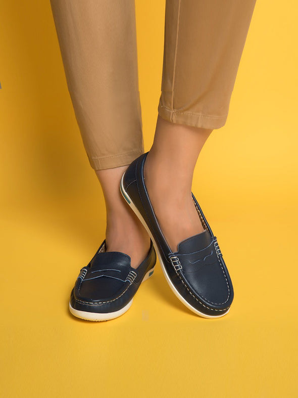 Cleo Loafers (Navy)