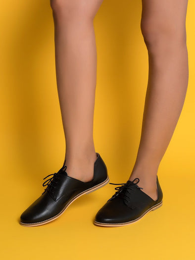 Natalie Oxfords (Black)