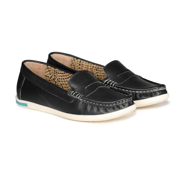 Cleo Loafers (Black)