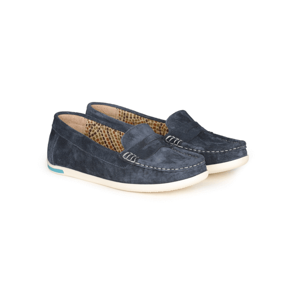 Amelia Suede Loafers