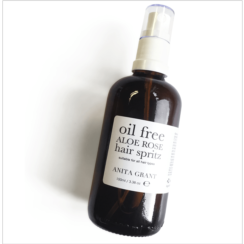 Aloe Rose Oil Free Hair Spritz - Leave-in Conditioning Spray - Anita Grant