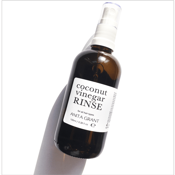 Coconut Vinegar Rinse - Herbal Hair Clarifier & Colour Sealer - Anita Grant