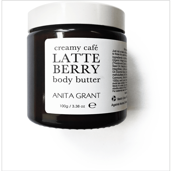 Creamy Cafe Latte Berry Body Butter - Anita Grant