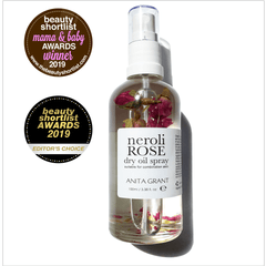 Neroli Rose Dry Oil Spray - Anita Grant