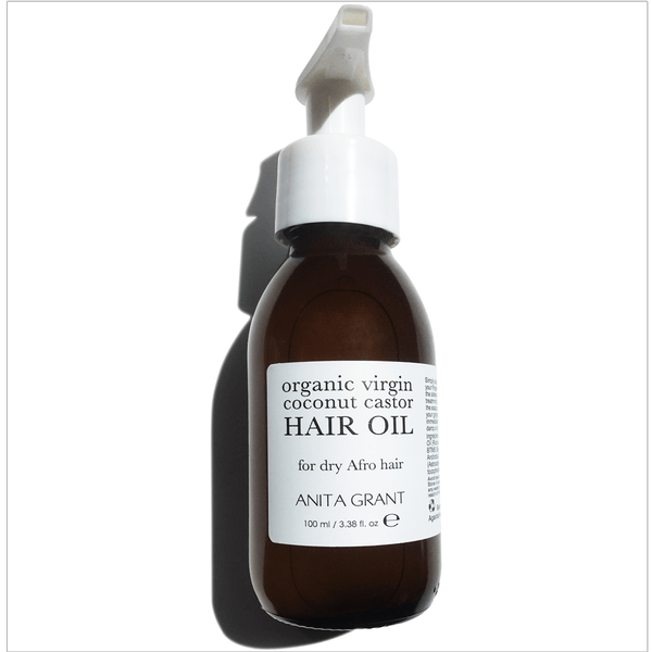 Organic Virgin Coconut Castor Hair Oil - Detangler - Anita Grant