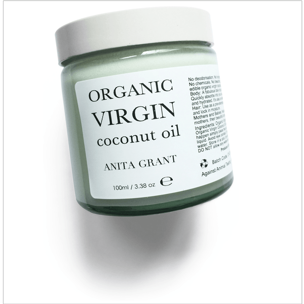 Organic Virgin Coconut Oil - Anita Grant