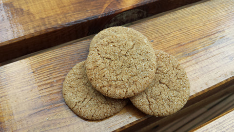 Soft Ginger Cookies Tray
