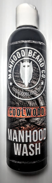 8oz Coolwood Manhood wash