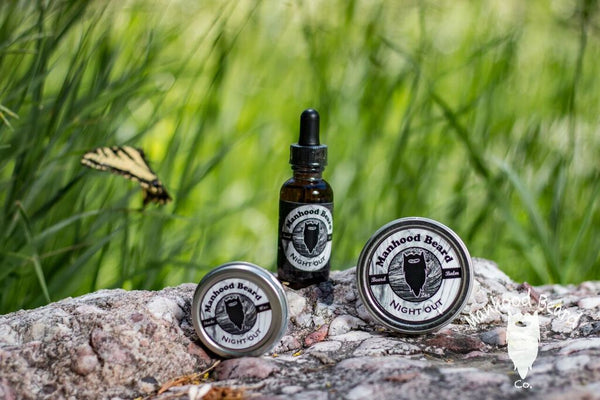 Night Out Beard Oil/Balm/Wax Combo
