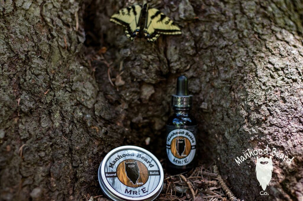 Mr. E Beard Oil/ Balm Combo