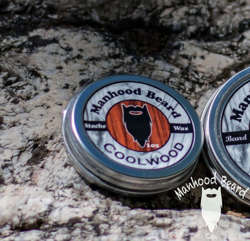 Coolwood mustache Wax