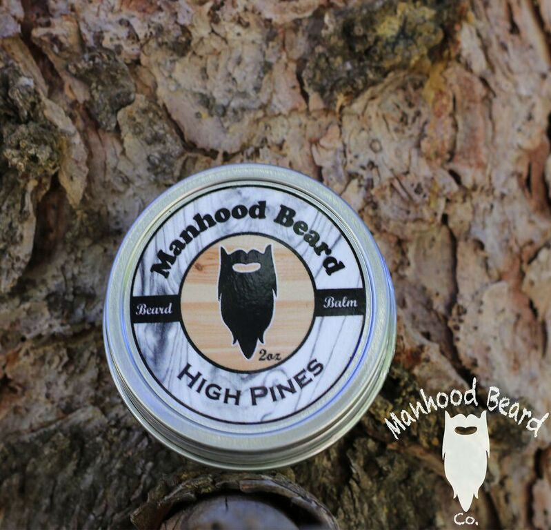 High Pine's Mustache Wax 1 oz