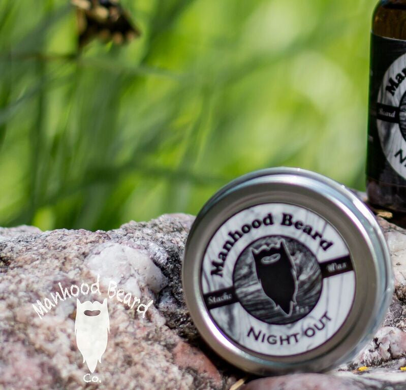 Night Out Mustache Wax 1oz