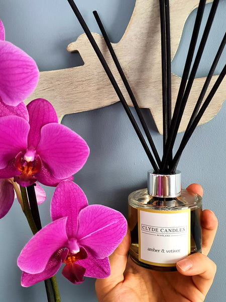 Amber & Vetiver Reed Diffuser