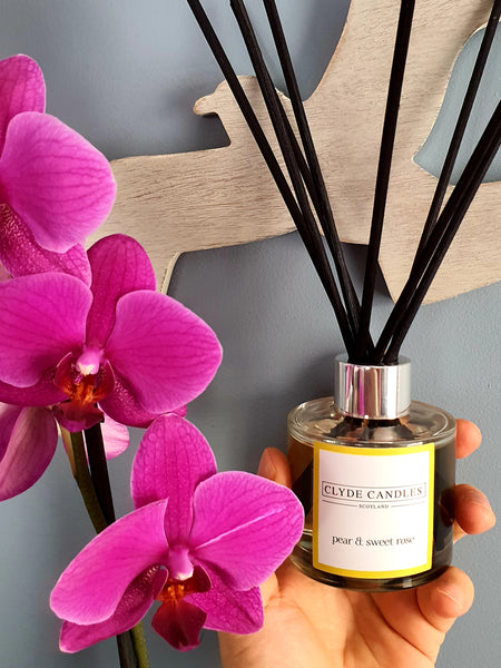 Pear & Sweet  Rose Reed Diffuser