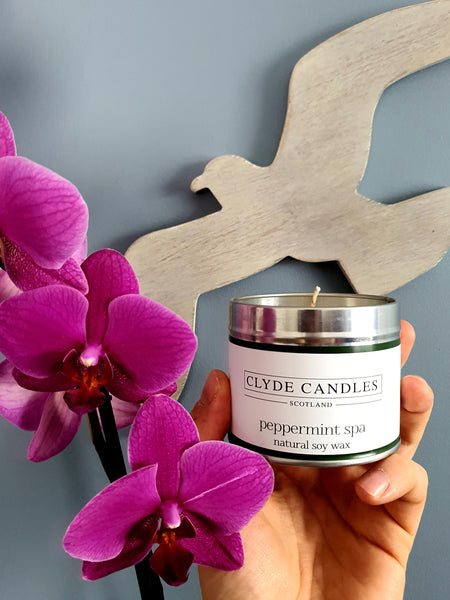 Peppermint Spa Candle Tin