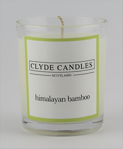 Himalayan Bamboo  wedding votive candle, clyde candles, scottish candles, hand made in scotland, natural soy wax