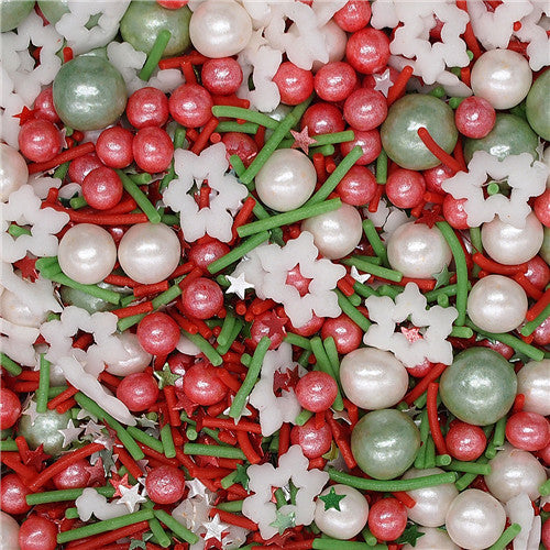 Christmas Blessing Cake Decoration mix Gluten GMO Nut Dairy Soy Free