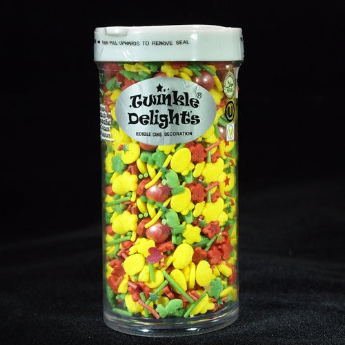 Easter Sprinkles mix Gluten Nut Dairy Soy Free natural Cake Decoration