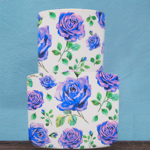 A3 Edible Floral Printing GMO Dairy Sugar Free Wafer Paper Decoration