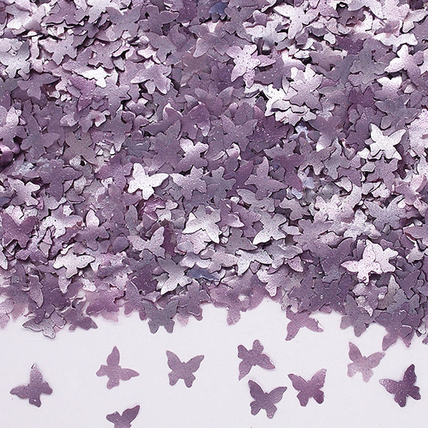 Natural Edible Purple GMO Nuts Gluten Sugar Free  Glitter Butterfly