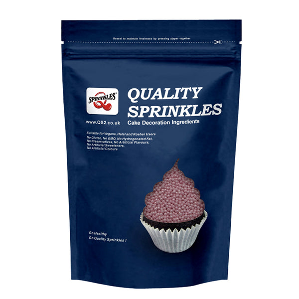 Natural Pink Nuts Dairy Soy Gluten GMO Free Shimmer nonpareils