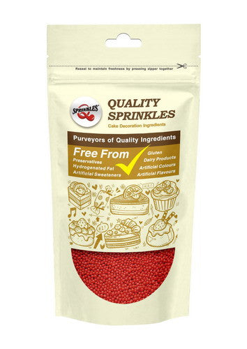 Natural Red Gluten GMO Nuts Dairy Soy Free 100's &1000's