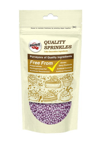 Natural 4mm Purple Nuts Dairy Soy Gluten GMO Free  shimmer Pearls