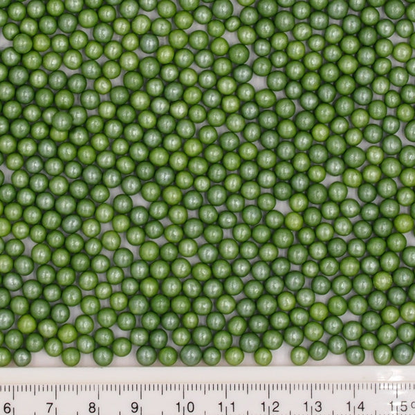 Natural 4mm Green Nuts Dairy Soy Gluten GMO Free  shimmer Pearls