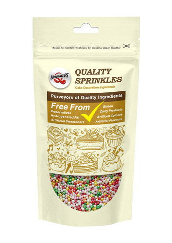 Natural Nuts Dairy Soy Gluten GMO Free 4mm Rainbow shimmer Pearls