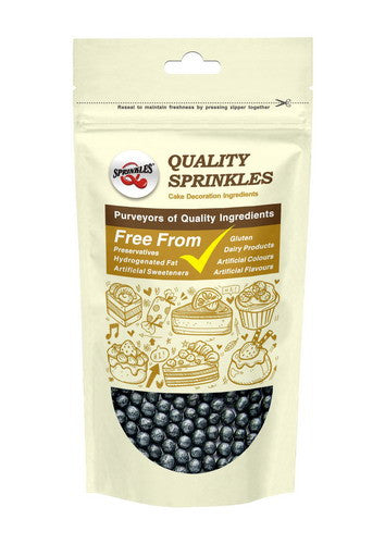 Natural 6mm Black Nuts Dairy Soy Gluten GMO Free  shimmer Pearls