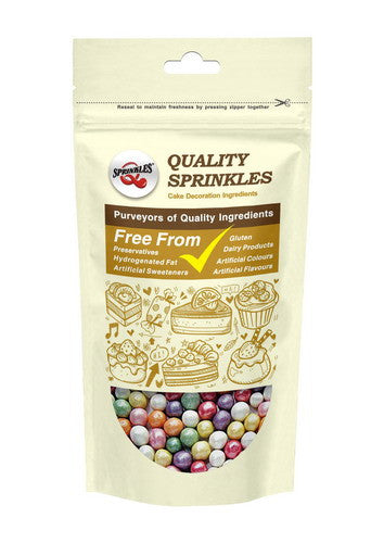 100% Natural Nuts Dairy Soy Gluten GMO Free 8mm Rainbow shimmer Pearls