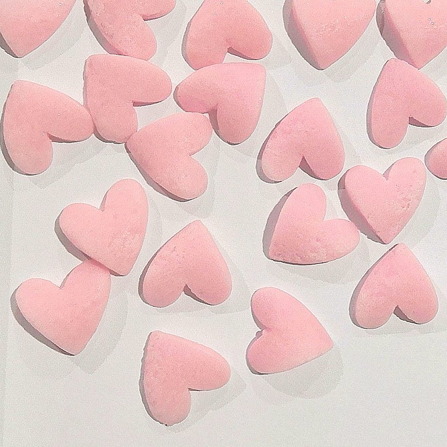 Natural Confetti Pink Super Heart Gluten GMO Nuts Dairy Soy Free