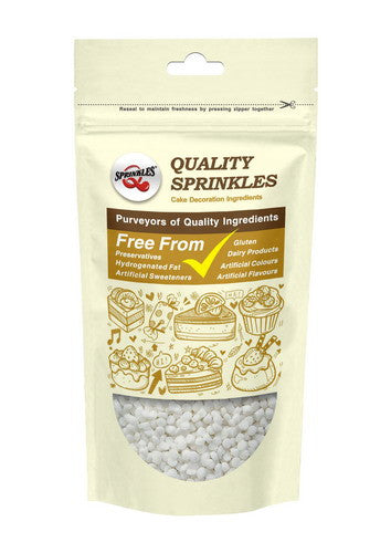 Natural White Gluten GMO Nuts Dairy Soy Free Confetti Dots