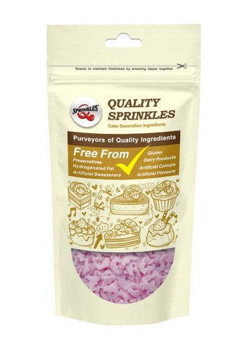 Natural Pink Gluten GMO Nuts Dairy Soy Free Confetti Dolphin