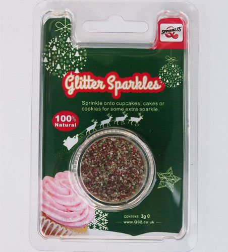 Natural Edible Christmas GMO Nuts Gluten Sugar Free Glitter Sparkles