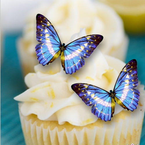 Edible Gluten nuts free, kosher Halal vegan precut Wafer Butterflies