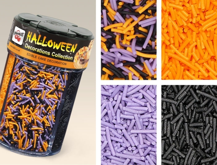 Halloween Shaker Nut Free Kosher Certified Edible Decoration