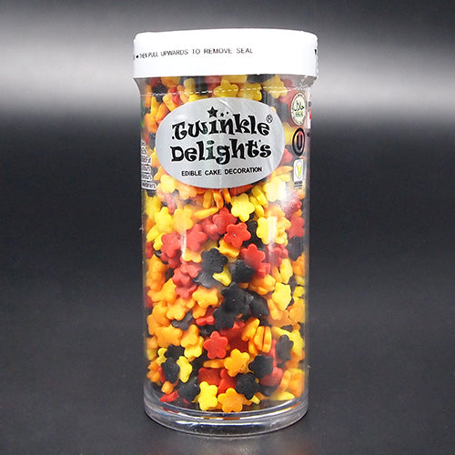 Halloween Confetti Daisies mix Gluten Nuts free 100% Natural Sprinkles