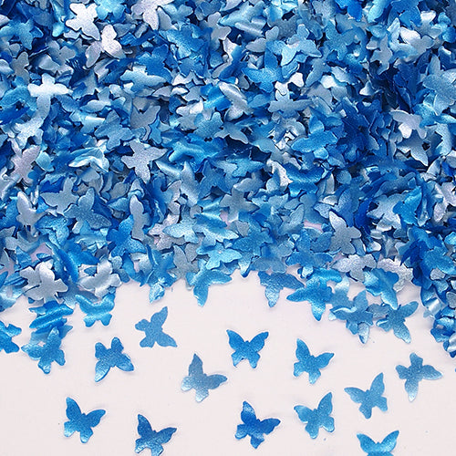 Natural Edible Blue GMO Nuts Gluten Sugar Free  Glitter Butterfly