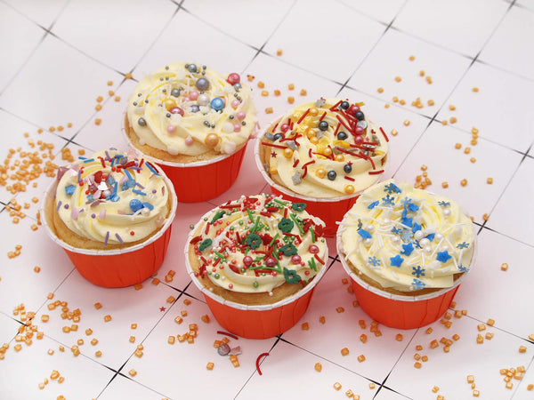 Christmas Carols Cake Decoration mix Gluten GMO Nut Dairy Soy Free