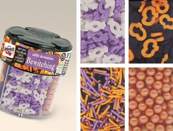 Vegan Cake Decorations Uk : Halloween Series   Quality Sprinkles (UK) Ltd