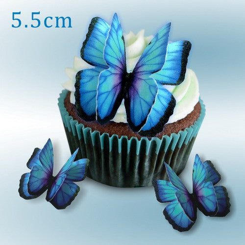 709 DIY Edible Wafer Double Pre Cut Butterfly