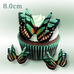 712 DIY Edible Wafer Double Pre Cut Butterfly