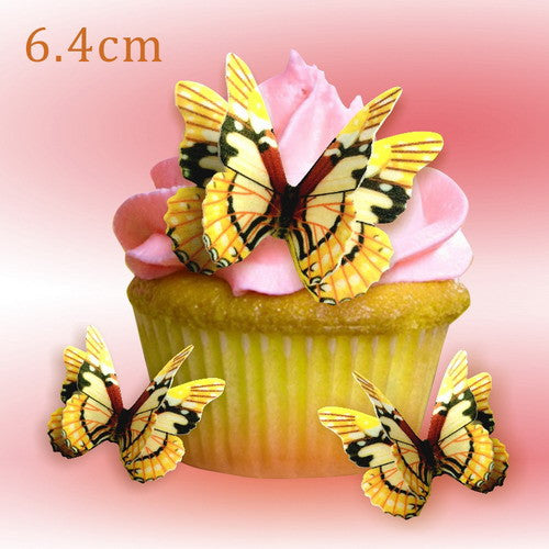 742 DIY Edible Wafer Double Pre Cut Butterfly