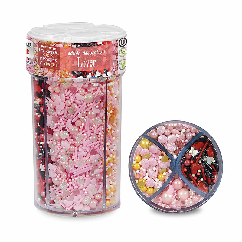 Lover Sprinkles Mix No Soy Non Gmos No Nut Cake Decoration