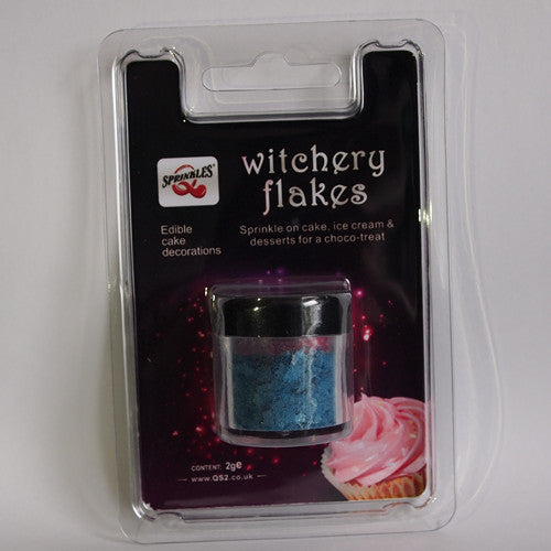 Ocean Blue Witchery Flakes Gluten Free Edible Decoration