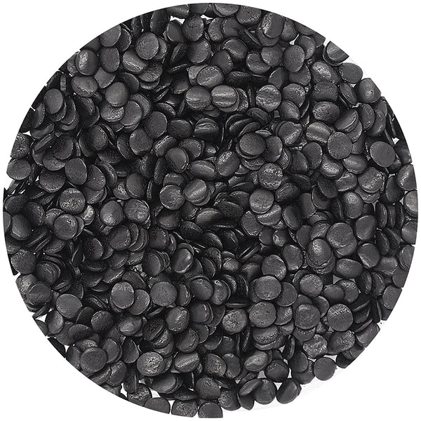 Natural Shimmer Black Gluten GMO Nuts Dairy Soy Free Confetti Sequins