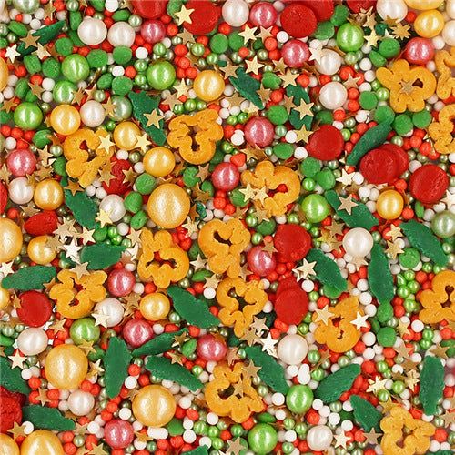 Gingerbread Man Christmas Sprinkles Mix Gluten Free