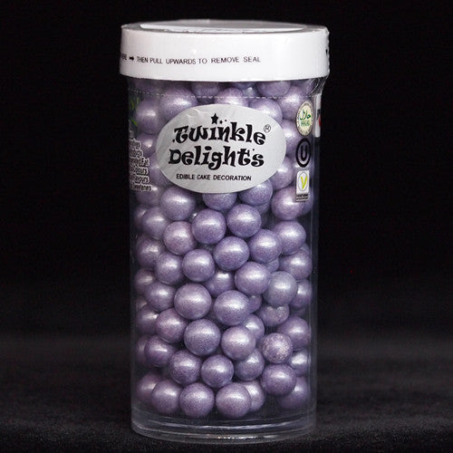 Natural 6mm Purple Nuts Dairy Soy Gluten GMO Free shimmer Pearls